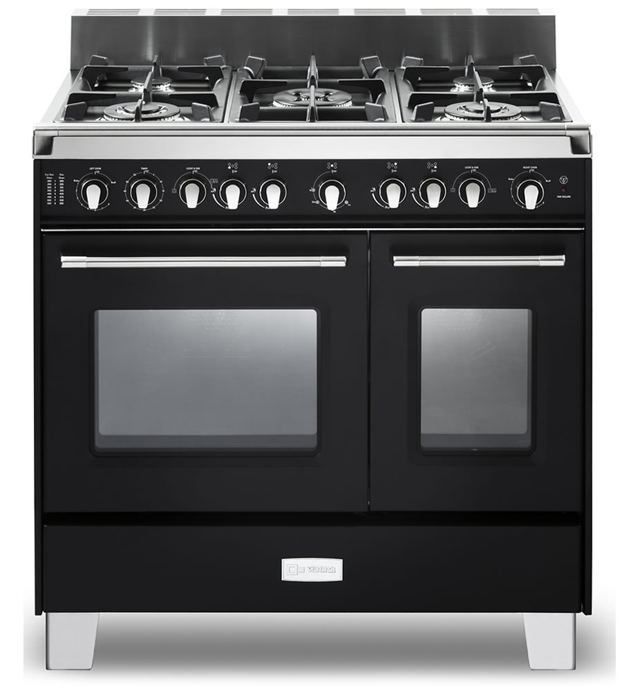 Double Oven Range ~ Verona classic quot gas double oven range appliances