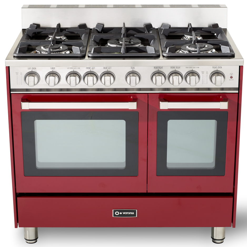 36 Quot Gas Double Oven Range Verona Appliances