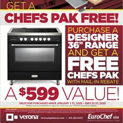 Verona Chefs Pak Promotion - January 2020