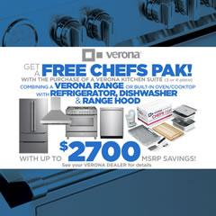 Verona Chefs Pak Mail-In Rebate - September 2020